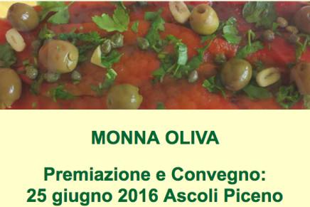 """Le olive da mensa premiate al concorso """"Monna Oliva"""""""