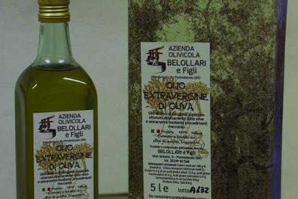 Il premio a un albanese per olive made in Italy