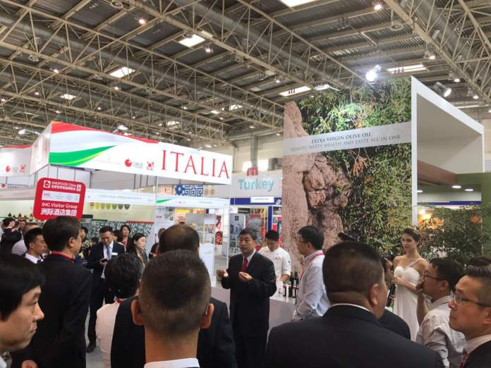 olio italiano a Pechino