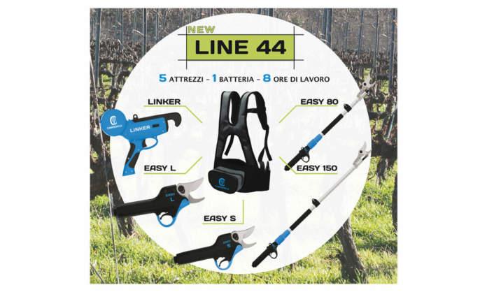 line 44 i nuovi attrezzi per la potatura