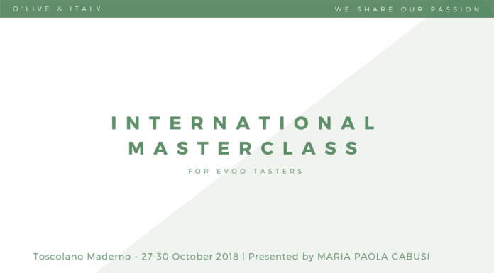International Masterclass Ottobre 2018