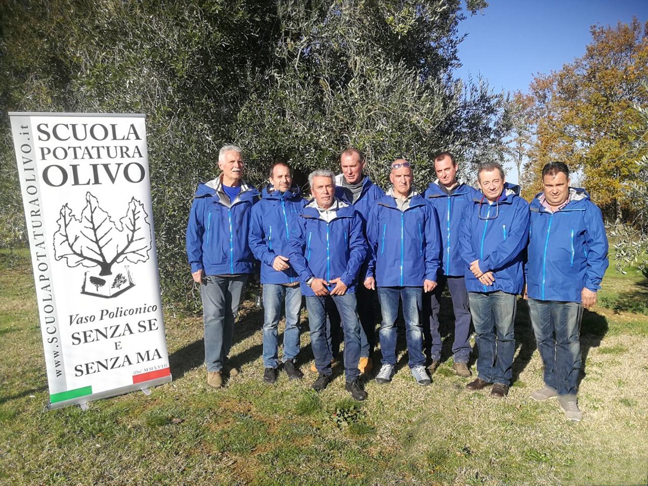 Scuola di Potatura dell'olivo