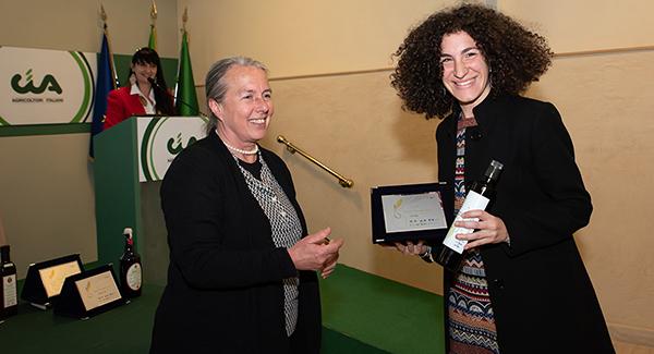 Giulia Vicario premiata Pandolea 2020