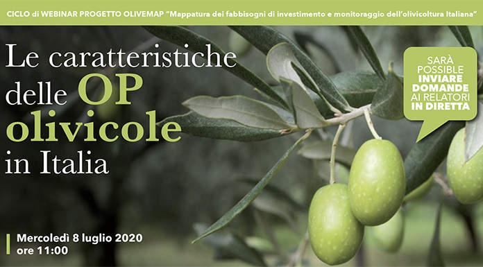 Webinar OLIVEMAP: Le caratteristiche delle OP olivicole in Italia